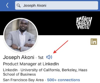 LinkedIn Audio Record Name Pronunciation