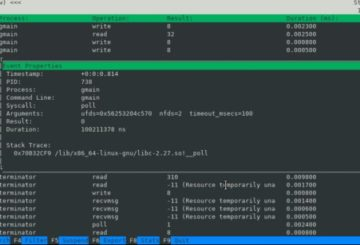 Process Monitor ProcMon for Linux
