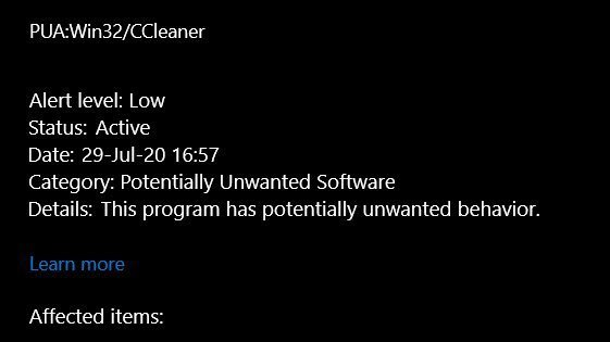 ccleaner pup