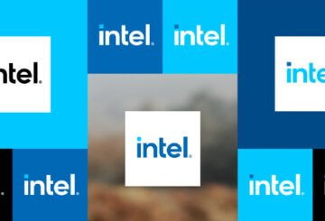 Intel logo redesign 2020