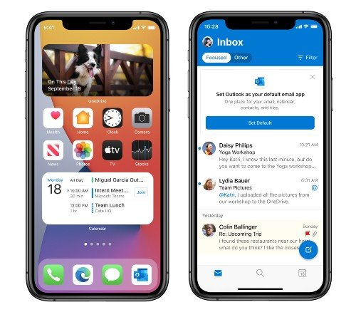 Microsoft Edge Apple iOS 14