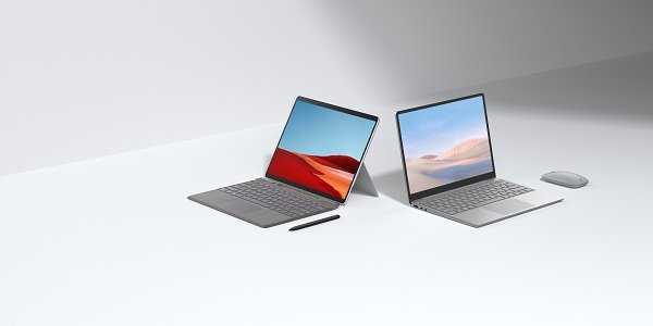 Surface Laptop Go, new Surface Pro X