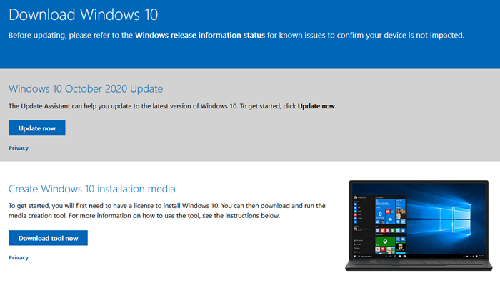 Windows 10 v 20H2 October 2020 Update