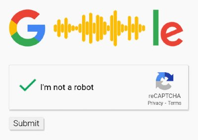 Google Audio reCaptcha