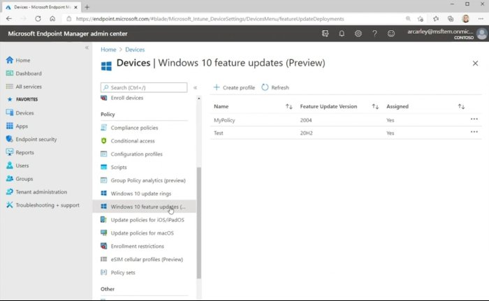 Windows 10 Business Deployment Service