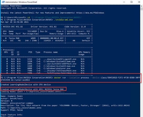 Windows Server Container Image Preview