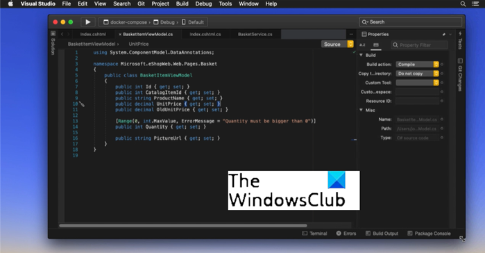 Visual Studio 2022 Private Preview for macOS